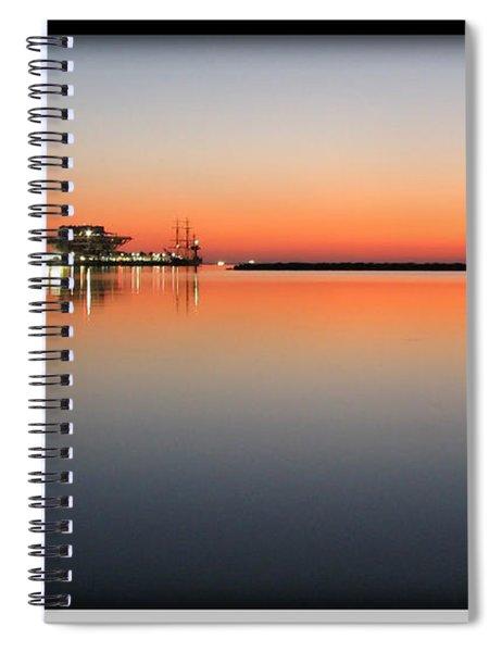 St. Pete Sunrise Spiral Notebook