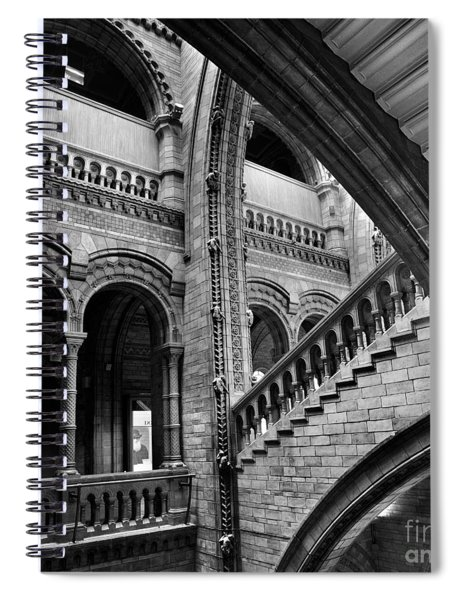 Stairs And Arches Spiral Notebook