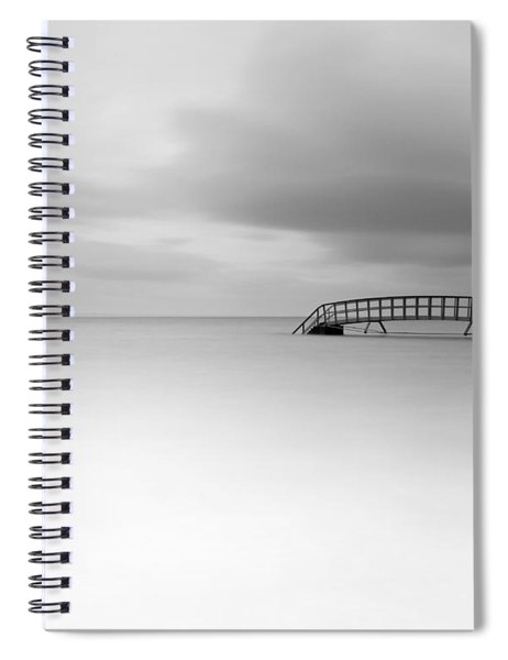 Stairs To Nowhere Spiral Notebook