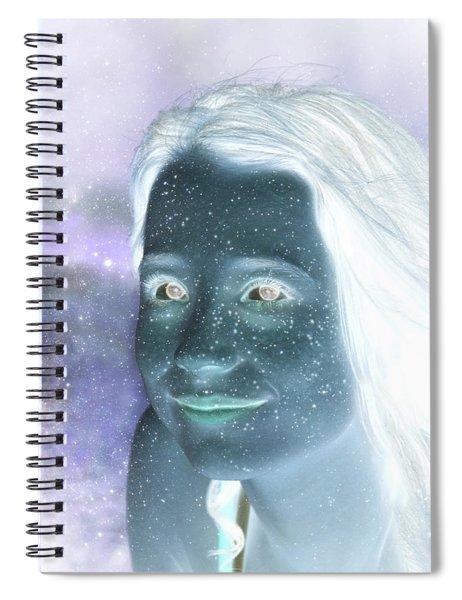 Star Freckles Spiral Notebook
