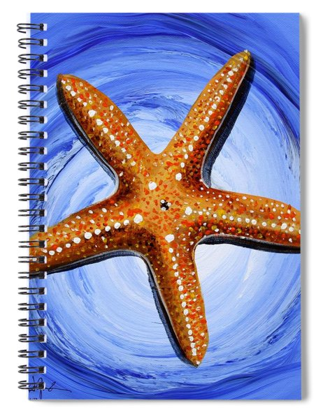 Star Of Mary Spiral Notebook