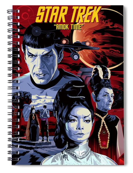Star Trek Amok Time Spiral Notebook