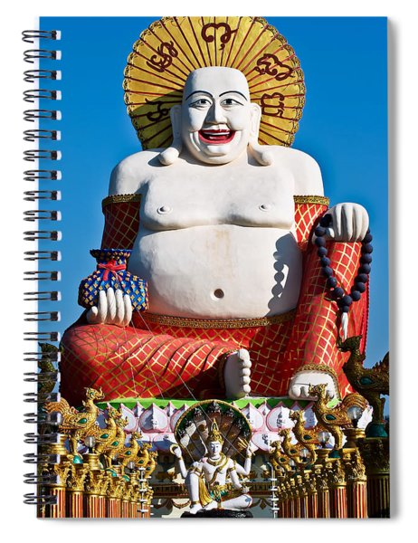 Statue Of Shiva Spiral Notebook