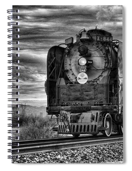 Steam Train No 844 - Iv Spiral Notebook