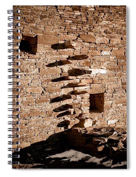 Step Wall Spiral Notebook