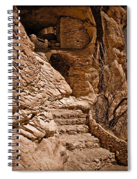 Stone Stairway Spiral Notebook