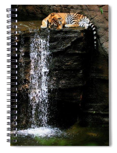 Strength At Rest Spiral Notebook