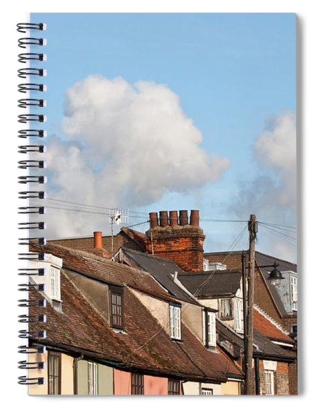 Suffolk Rooftops Spiral Notebook