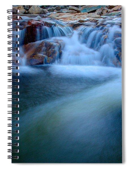 Summer Cascade Spiral Notebook