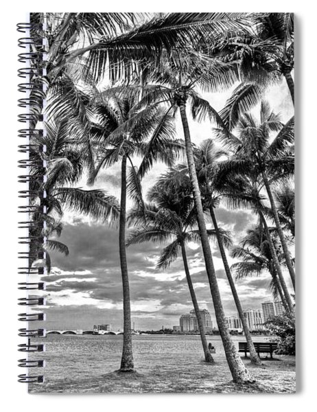 Sunset Grove At Palm Beach Spiral Notebook
