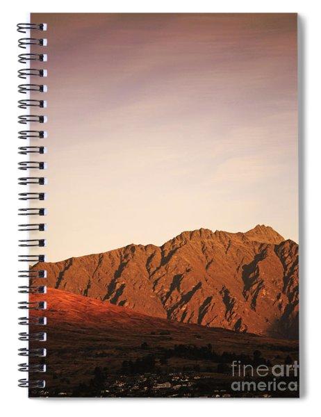 Sunset Mountain 2 Spiral Notebook