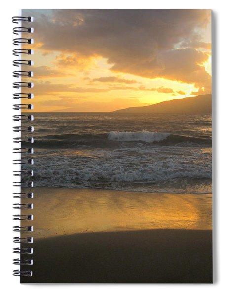 Sunset On Maui Spiral Notebook