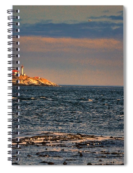 Sunset Over British Columbia Spiral Notebook