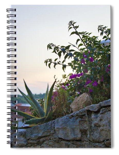 Sunsetting Over Hvar Spiral Notebook