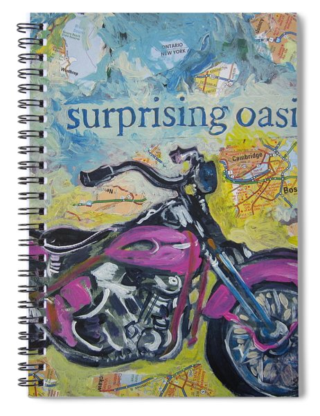 Surprising Oasis Spiral Notebook
