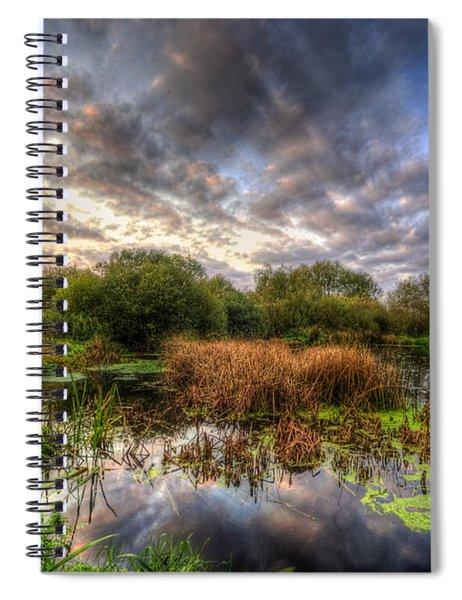 Swampy Spiral Notebook