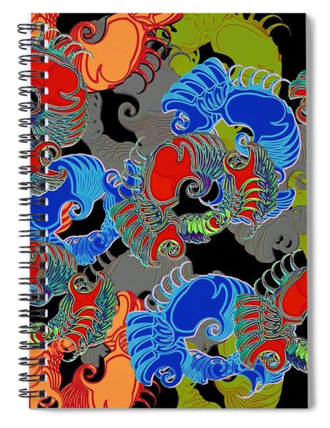Tainted Shrimp Spiral Notebook
