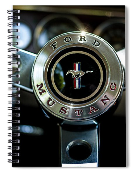Take The Reins Spiral Notebook