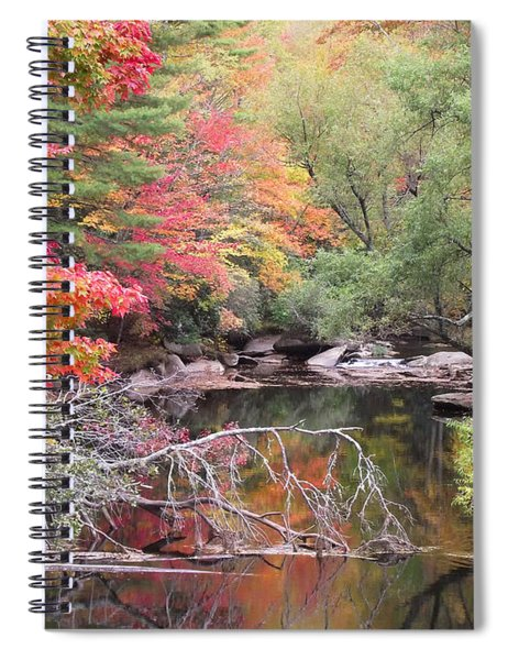 Tanasee Creek In The Fall Spiral Notebook