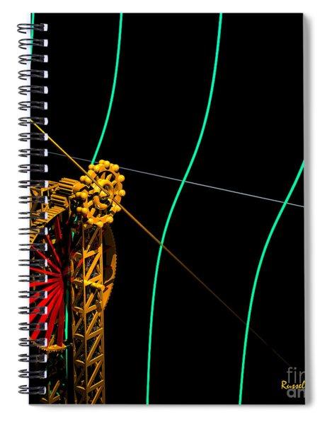 Tangent Graph Math Engine Spiral Notebook