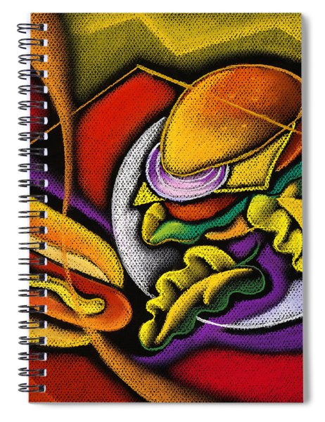 Lunch Time Spiral Notebook