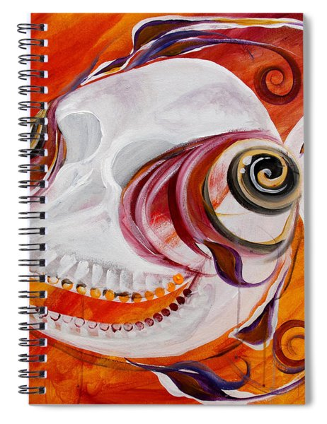 T.b. Chupacabra Fish Spiral Notebook