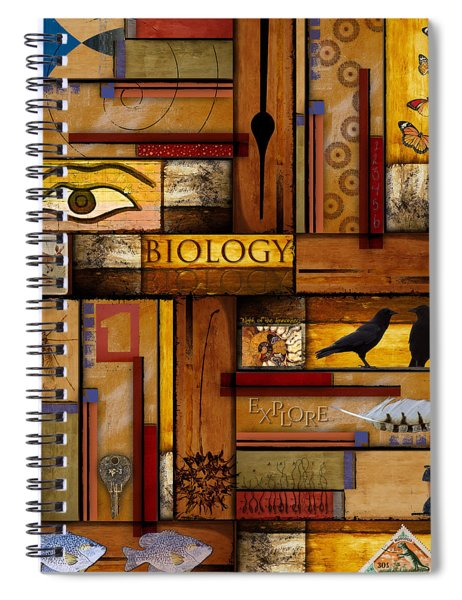 Teacher - Biology Spiral Notebook