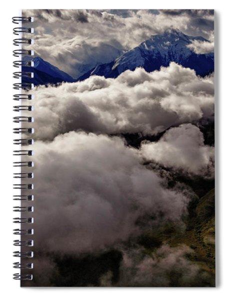 Ten Thousand Feet Over Denali Spiral Notebook