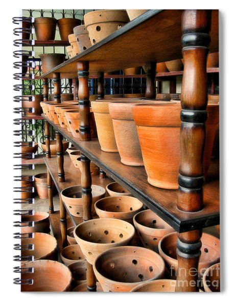 Terracotta Ranks Spiral Notebook