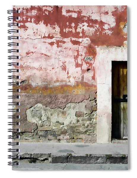 Textured Wall In Mexico Spiral Notebook