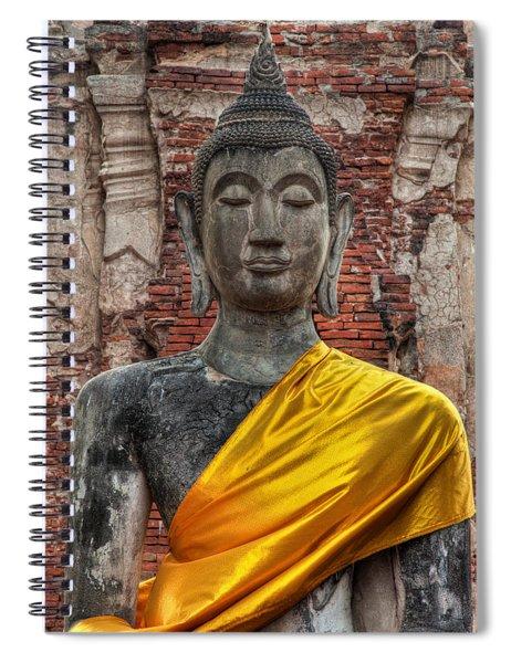 Thai Buddha Spiral Notebook