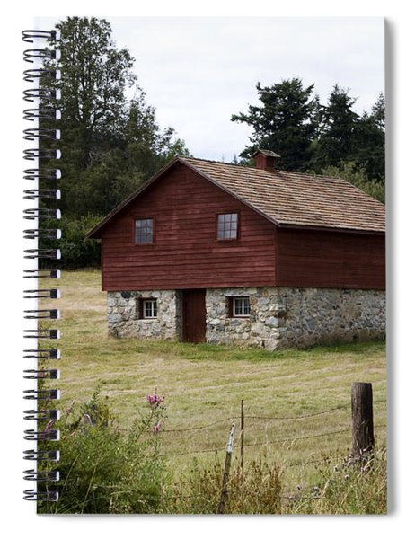 The Apple Barn Spiral Notebook by Lorraine Devon Wilke