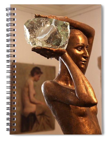 The Bather Spiral Notebook