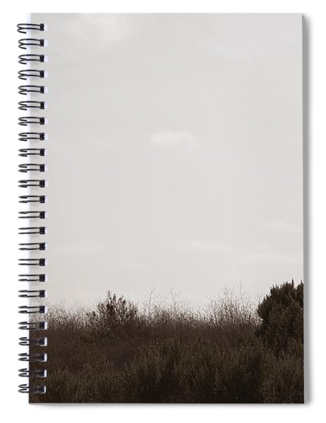 Spiral Notebook featuring the photograph The Chief by Lorraine Devon Wilke