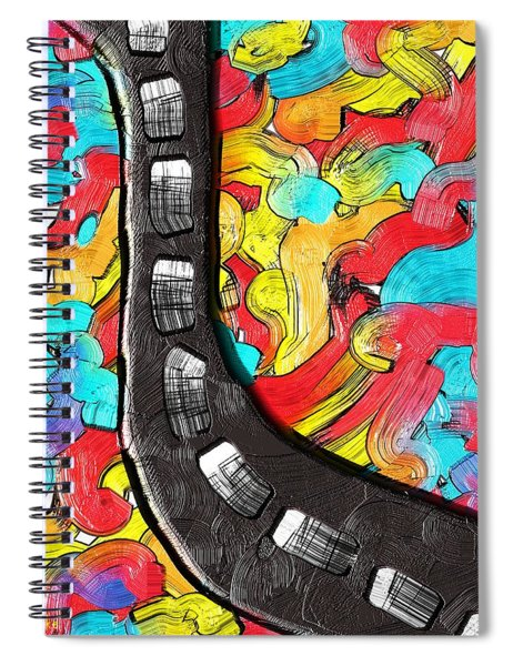 The Color Highway Spiral Notebook