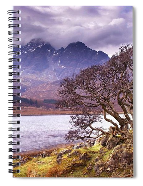 The Cuillins Skye Spiral Notebook