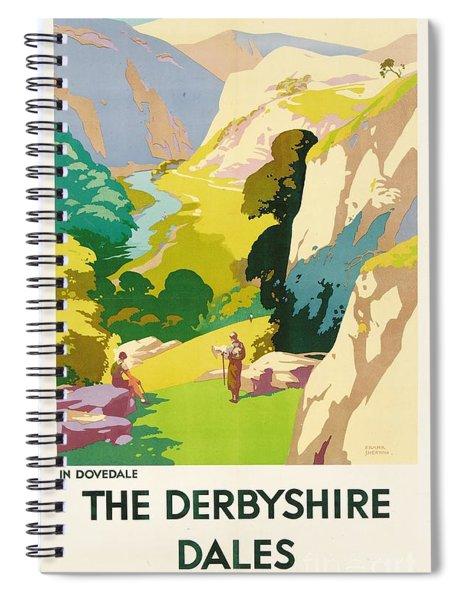 The Derbyshire Dales Spiral Notebook
