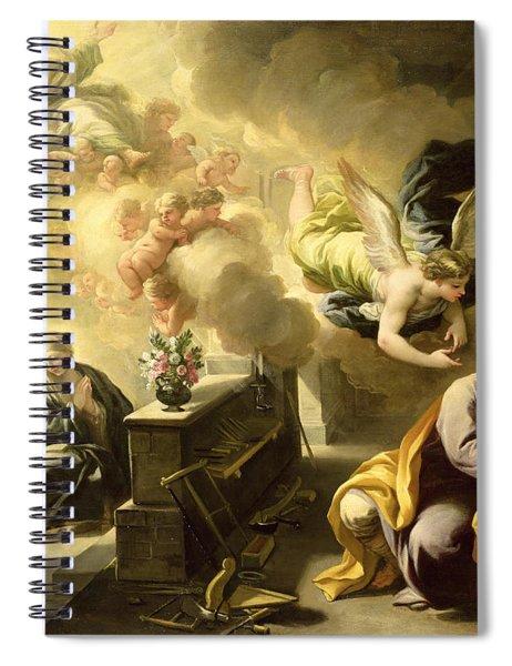 The Dream Of Saint Joseph Spiral Notebook