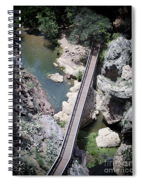 The Foot Bridge Spiral Notebook