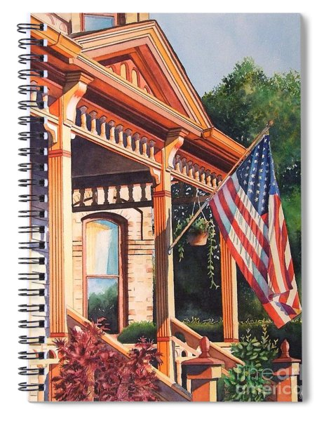 The Founders Home Spiral Notebook