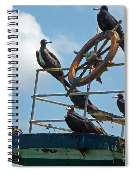 The Frigate Crew Spiral Notebook