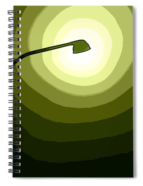 The Future Is Green Spiral Notebook