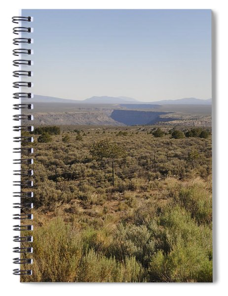 The Gorge On The Mesa Spiral Notebook