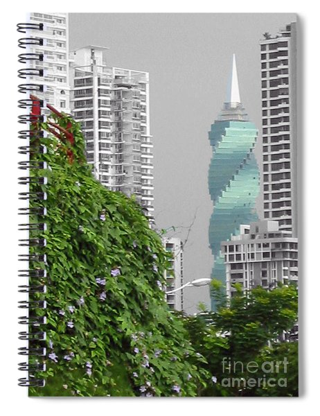 The Green Season In Panama Spiral Notebook