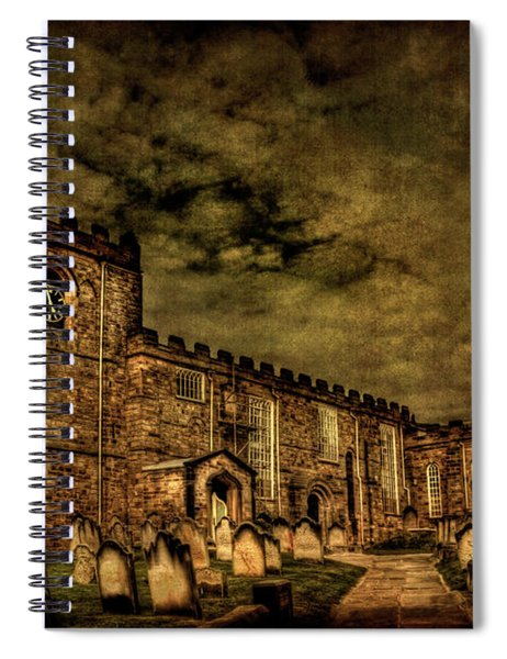 The House Of Eternal Being Spiral Notebook