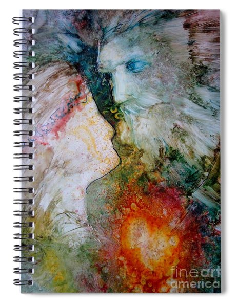 The King's Heart Spiral Notebook