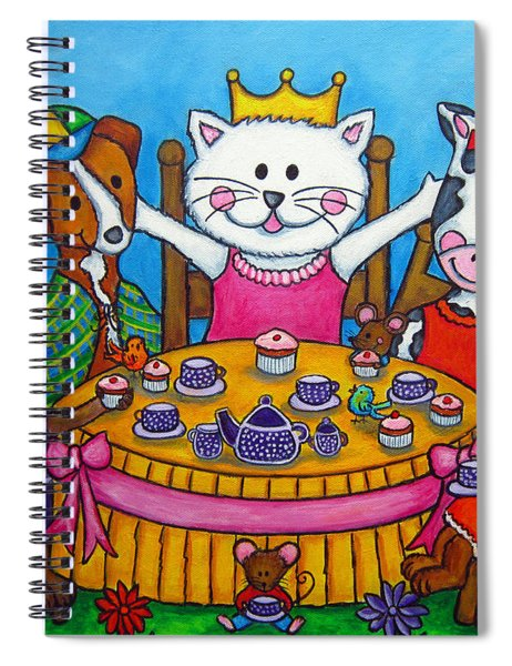 The Little Tea Party Spiral Notebook