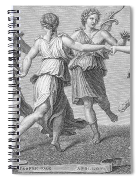 The Muses Spiral Notebook