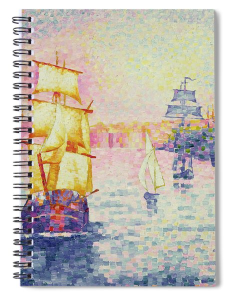 The Port Of Marseilles Spiral Notebook
