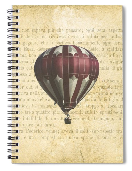 The Printed Page 4 Spiral Notebook